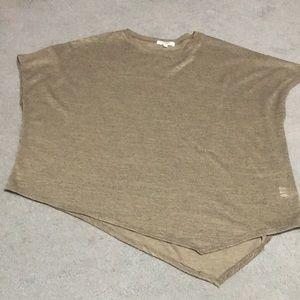 Brown Angle Sweater